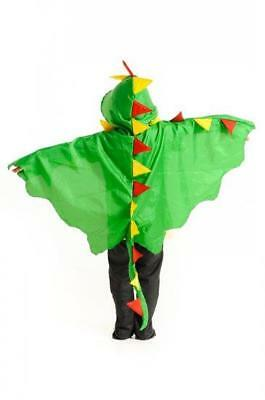 NEW Little Heroes Green Dragon Cape Dress Up Set