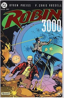 Robin 3000 #1-2, complete run, Elseworlds DC 1992, P Craig Russell