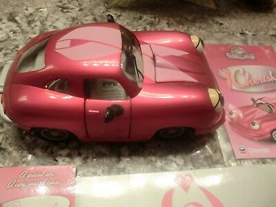 Breast Cancer Awareness Porsche Toy Car NWOB Collectors Item