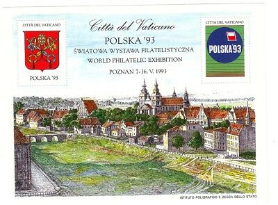 OLD EAST EUROPE  25 YEARS OLD   SOUVENIR EXHIBITION SHEET  in POZNAN