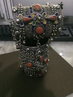 Bijoux Kabyle (Handmade Jewelry Kabyle,Silver Coral)