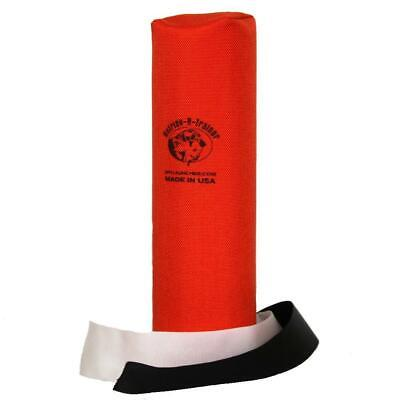 Dummy Launcher Canvas long mit Streamer Apportierdummy Jagd 25 cm orange
