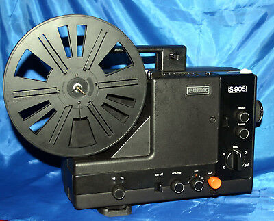 PROJECTOR HEAVEN.  EUMIG S-905 SUPER 8mm SOUND MOVIE PROJECTOR, FULLY SERVICED