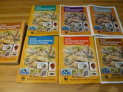 World Wild Life Stamp Catalogue Plus Supplement 1-6 (up to 2009)