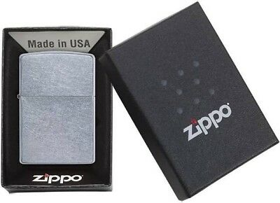 Zippo Lighter Chrome Classic Theme BRAND- NEW in branded box
