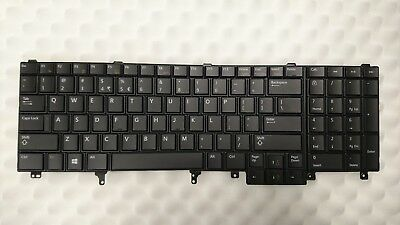 Dell Latitude E6530 // E5530 Laptop Keyboard 7C536 US INTL 7C536 Non-Backlit