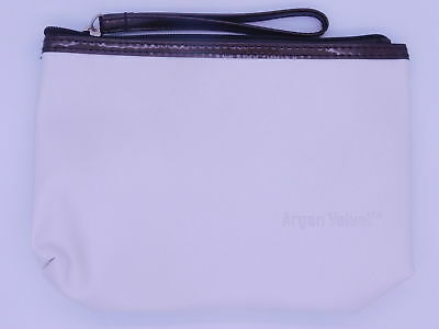 Luxury Argan Velvet Zipped Bag