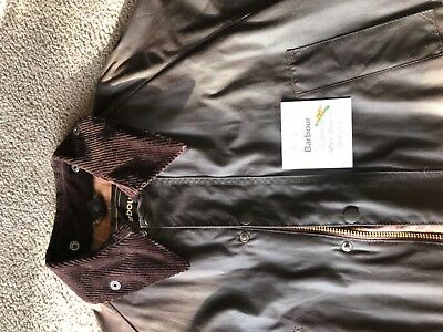 Barbour Bedale Wax Jacket Rustic Size 42