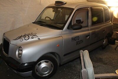TX1 taxi photo booth business for sale London cab