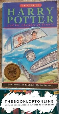 *Harry Potter and the Chamber of Secrets J K Rowling 1st Edition /9th Print TBLO
