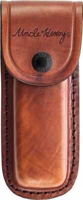 "Schrade LS6 Uncle Henry Leather Sheath Fits Most 3-4"" Folding Knives"