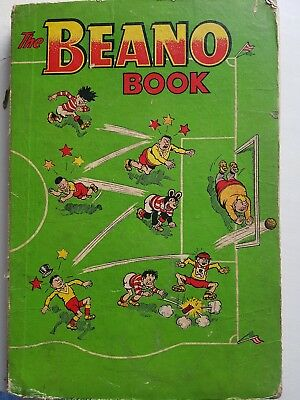 Vintage - 1957 - Beano Book, Good Condition (Spine Worn) All Pages Intact, Rare!