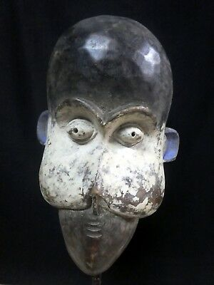 Old Tribal Bulu Monkey Cameroon  Africa Fes-Gb1316