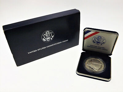 UNITED STATES CONSTITUTION COIN - USA - 1987 - Silber - Dollar - PP