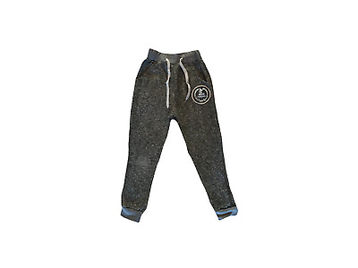 Boys Kids Plain Jogging Bottoms Warm Fleece Joggers School PE Pants Trousers