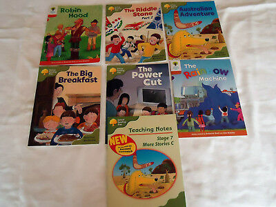 OXFORD READING TREE STAGES 6 7+8 & TEACHING NOTES BOOK 7 BOOKS 5-7yrs  NW/UNUSED