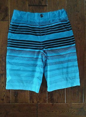 Boys Blue And Black Brothers Swim Shorts Size 12