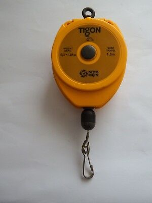Tigon TW-1R Nitto Mijin Screwdriver Spring Balance Retractor 0.5-1.5Kg