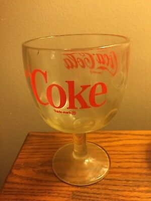 Vintage Coca-Cola Glass...must See