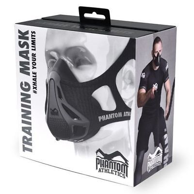 Training Mask PHANTOM ATHLETICS pour musculation/vélo/fitness (toute taille)