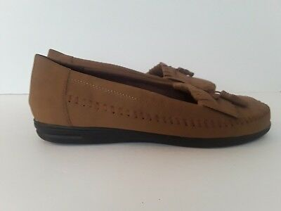 262b78335e5 WOMENS DR. SCHOLL S Tassel Loafers Moccasins Shoes Light Brown Size 10 M -   8.99