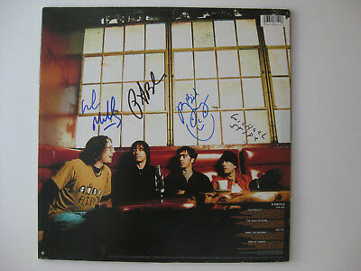 """R.E.M. - Rare FULLY AUTOGRAPHED ALBUM -  12"""" HAND SIGNED BY ALL FOUR  w/ STIPE"""