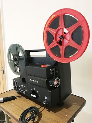 DUO 300 SOUND  SUPER 8 CINE  FILM PROJECTOR Fully SERVICED Ready to Go
