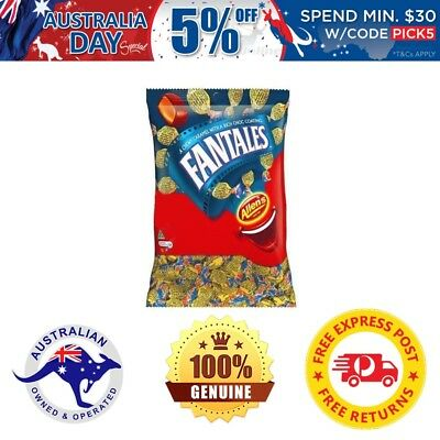 Allens Fantales 1kg Bulk Lollies Candy Throwback Sweet Favor Lolly Table