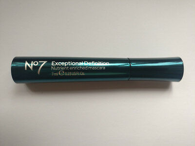Boots No 7 EXCEPTIONAL DEFINITION Nutrient Enriched Mascara Black 7ml. NEW