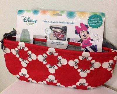 Minnie Mouse Stroller Caddy * New * Perfect For Your Disney Vacation *