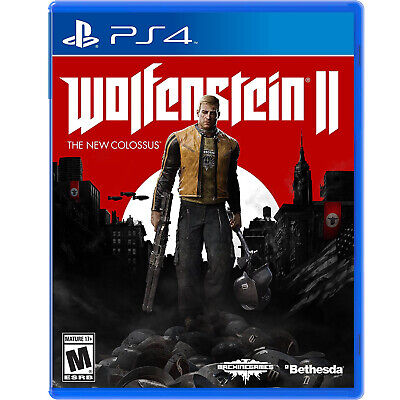 Wolfenstein II: The New Colossus PS4 [Factory Refurbished]