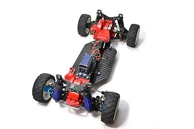 Carbon Rally Chassis Rebuild Kit for Tamiya TA02 EmbieRacing