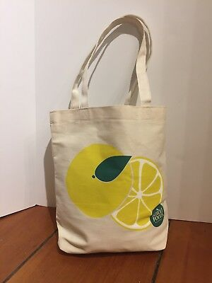 Brand New Canvas Shopping Tote Bag Whole Foods
