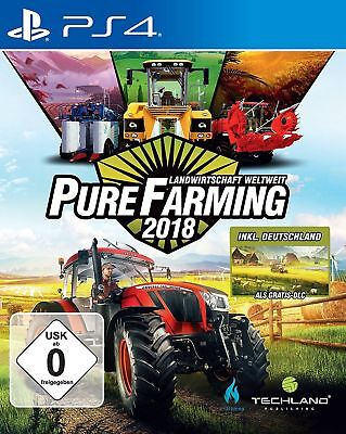 Pure Farming 2018 PS4 | Deutsche Neuware | Sony Playstation 4