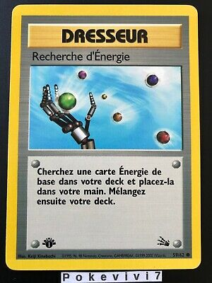 Carte Pokemon TENTACOOL 56//62 Commune Fossile Wizard EDITION 1 FR