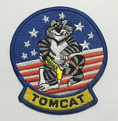 Us United States Military Tomcat Embroidered Patch-1015