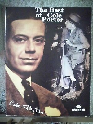 Noten Piano / Vocal The Best of Cole Porter chappell International Music