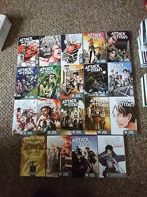 Attack on Titan Manga Collection
