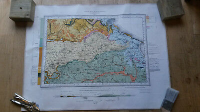geology map Scarborough drift edition