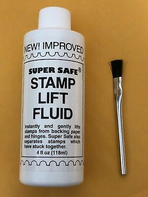 Supersafe Stamp Lift Fluid - ***we Help And Support Our Veterans ***