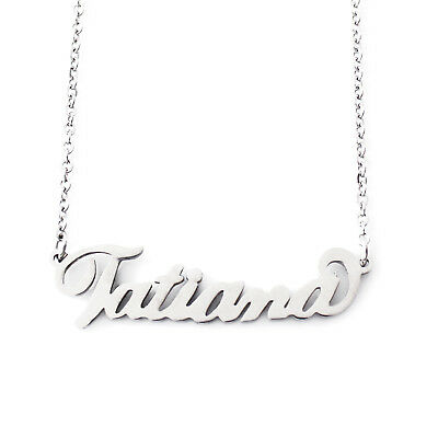 Michaela Name Necklace Silver ToneBirthday Wedding Personalized Gifts For Her