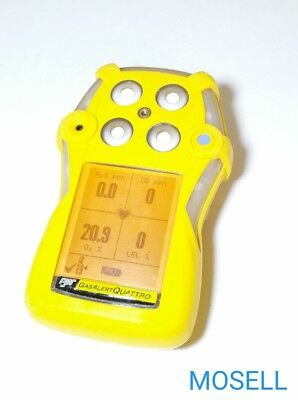 BW Technologies Gas Alert Quattro O2 CO H2S LEL Warranty Calibrated