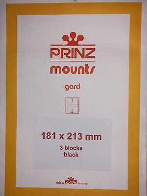 Prinz Stamp Mounts 181/213  ***We Are A Veteran Supportive Business***