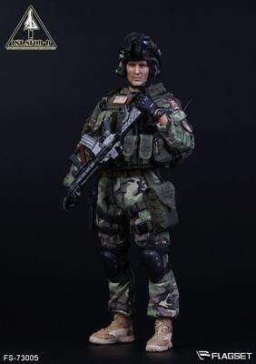 """Flagset 1/6 US Army 1st SFOD-D DELTA SPECIAL FORCES 1/6 12"""" Figure MIB USA"""