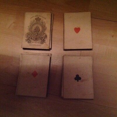 Old Hardy & Sons Playing Cards - full set