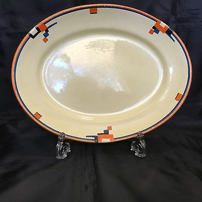 Clarice Cliff Bizarre Fantasque Serving Plate Extremely Rare 1929
