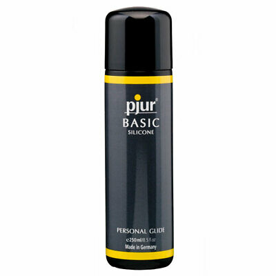 Pjur Basic Silicone Personal Glide 250ml Bottle Massage Lubricant / Lube
