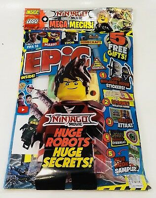 Epic Magazine #138 - 5 Epic Gifts Inside! (New)