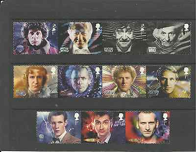 SG3437-47 GB 50th ANNIV OF DOCTOR WHO VERY FINE USED SET
