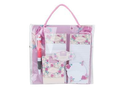 Floral Hanging Notepad & Pen Gift Set Mothers Day Present